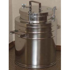 Бидон(фляга) для пищевых продуктов с герметичной  крышкой . 25 л, широкая горловина