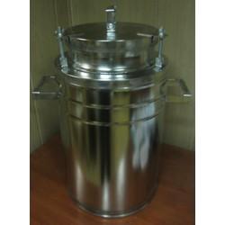 Бидон(фляга) для пищевых продуктов с герметичной  крышкой . 40 л, широкая горловина