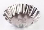 Форма для выпечки тарталеток (белая жесть, d 83 мм/ h 21мм,вес 14 гр.)