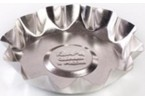 Форма для выпечки печенья, малая (белая жесть, d 96 мм/ h 20 мм, вес 18 гр.)