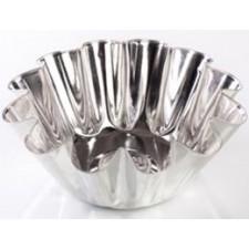 Форма для выпечки ромовой бабы, большая плюс (белая жесть, d 140 мм/ h 62 мм, вес 60 гр.)