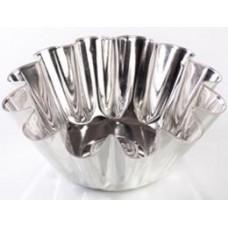 Форма для выпечки ромовой бабы, малая (белая жесть, d 111 мм/ h 36 мм, вес 32 гр.)