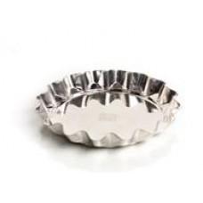 Форма для выпечки коржиков (белая жесть, d 130 мм/ h 16 мм, вес 32 гр.)