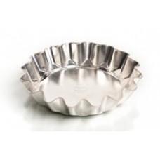 Форма для выпечки традиционная, низкая (белая жесть, d 144 мм/ h 26 мм, вес 44 гр.)