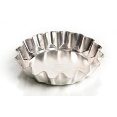 Форма для выпечки традиционная, высокая (белая жесть, d 152 мм/ h 34 мм, вес 52 гр.)
