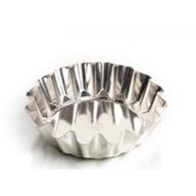 Форма для выпечки классическая, низкая (белая жесть, d 160 мм/ h 41 мм, вес 62 гр.)