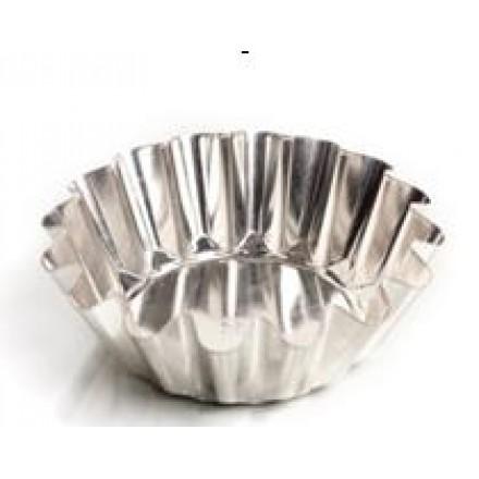 Форма для выпечки классическая, высокая (белая жесть, d 176 мм/ h 56 мм, вес 82 гр.)