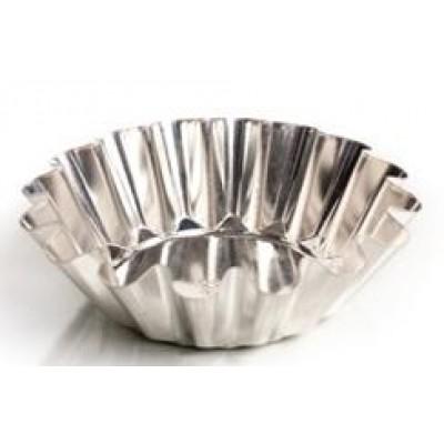 Форма для выпечки кулича(белая жесть, d 187 мм/ h 67 мм, вес 100 гр.)