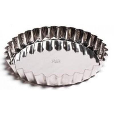 Форма для выпечки тортов(белая жесть, d 210 мм/ h 33 мм, вес 100 гр.)