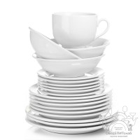 О плюсах и минусах фарфоровой посуды