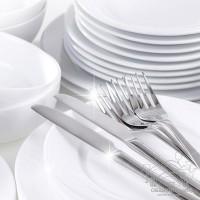 Посуда и столовые приборы в общепите